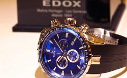 エドックス キャンペーン開催中!爽やかなブルーが好印象の「グランドオーシャン クロノグラフ」