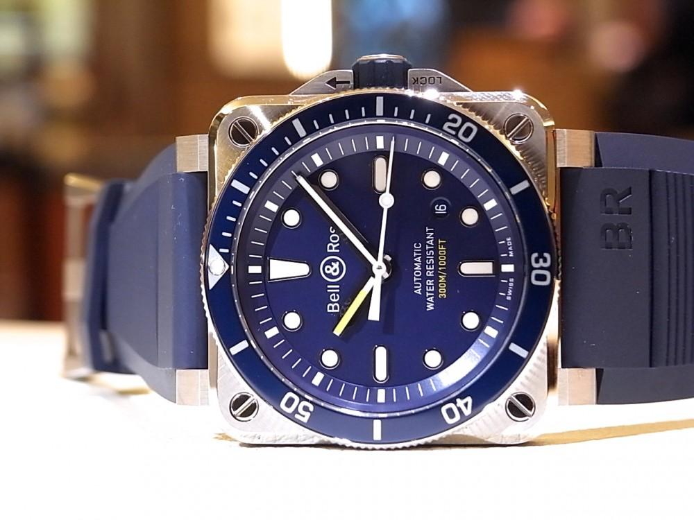 ベル&ロスの人気のダイバーに爽やかなブルーを採用した「BR 03-92 DIVER BLUE」-Bell&Ross -R1170538