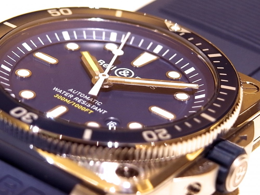 ベル&ロスの人気のダイバーに爽やかなブルーを採用した「BR 03-92 DIVER BLUE」-Bell&Ross -R1170542