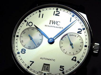 本日より、IWCニューコレクションフェアスタート! 人気の「ポルトギーゼ・オートマチック IW500705」