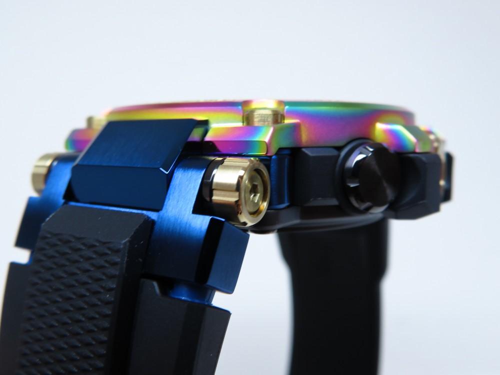 鮮やかなレインボーが一際目を惹く!MT-G生誕20周年モデル! G-SHOCK「MT-G 20th Anniversary Limited Edition」MTG-B1000RB-2AJR-G-SHOCK -IMG_0947