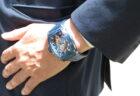 OSSO ITALYキャンペーン開催中!男性らしい武骨なスケルトンウォッチ