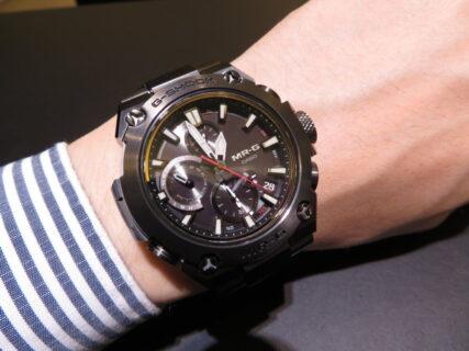 腕馴染みの良いミッドサイズモデル! G-SHOCK「MR-G」MRG-B1000B-1AJR