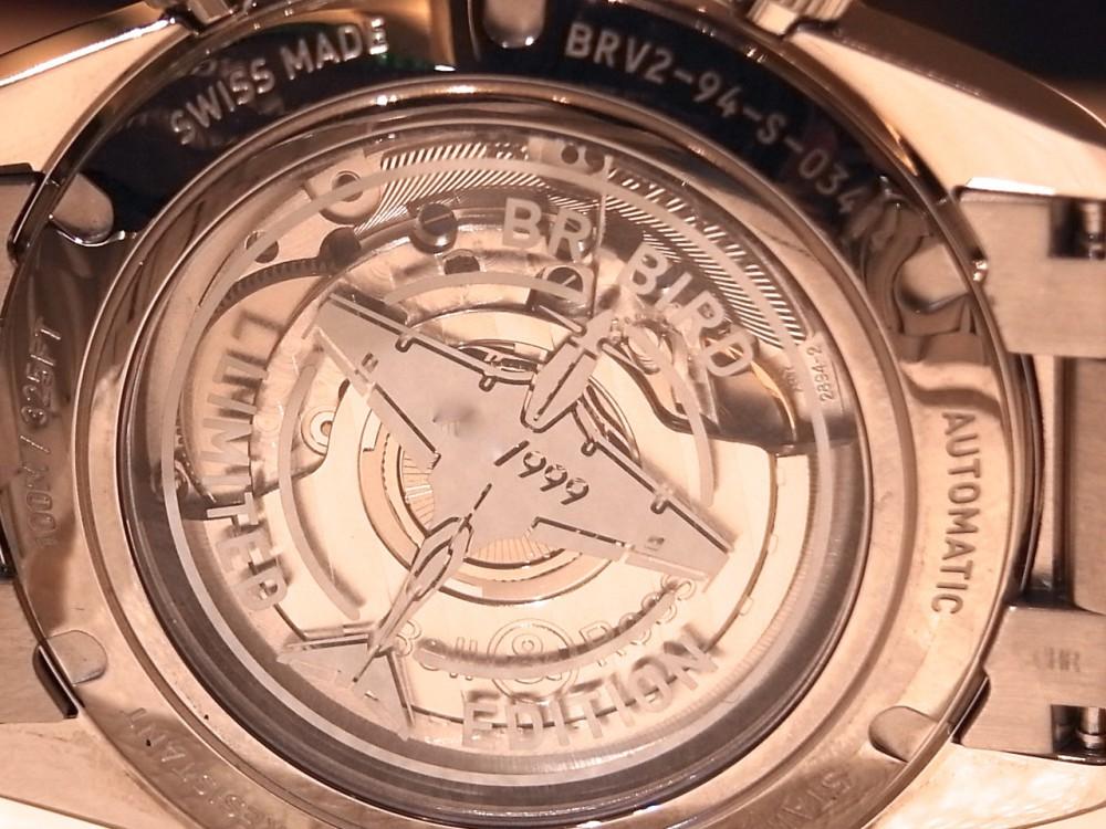 ベル&ロス ホワイト文字盤が爽やか!希少な限定モデルの「BR V2-94 RACING BIRD」-Bell&Ross -R1169676