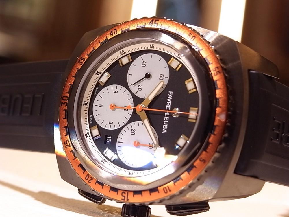 二番目に古いスイスの時計ブランド「ファーブル・ルーバ」のレイダー・シースカイ-FAVRE-LEUBA -R1169935