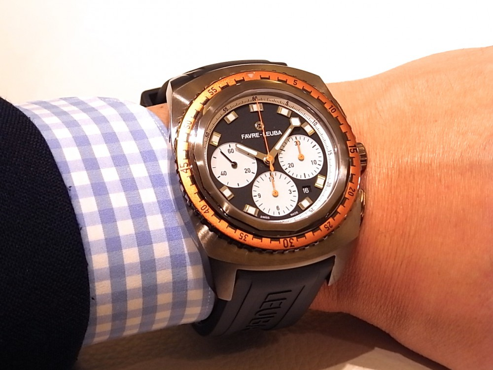 二番目に古いスイスの時計ブランド「ファーブル・ルーバ」のレイダー・シースカイ-FAVRE-LEUBA -R1169940
