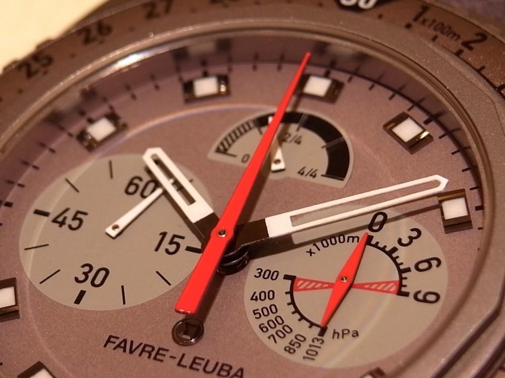 ウォッチスターズ受賞モデル!9000mまで計測可能な ファーブル・ルーバ「レイダー・ビバーグ9000」-FAVRE-LEUBA -R1169943