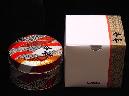 Gショック新元号「令和」限定パッケージプレゼントキャンペーン開始!