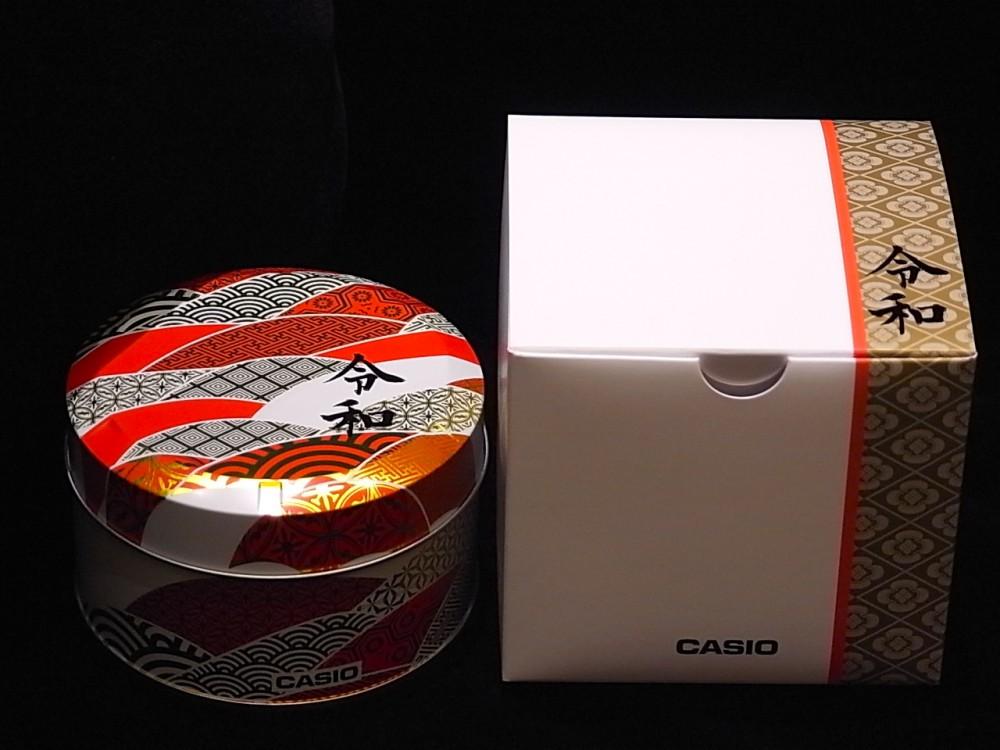 Gショック新元号「令和」限定パッケージプレゼントキャンペーン開始!-G-SHOCK -R1170805