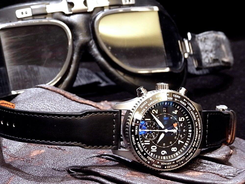 チャンピオンズリーグ決勝を控えた指揮官の着用モデル、IWC「パイロット・ウォッチ・タイムゾーナー・クロノグラフ」-IWC -R1171219