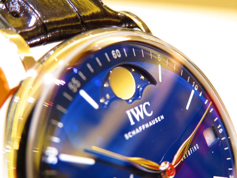 IWCから150周年記念モデル入荷!世界限定350本 ポートフィノ・ハンドワインド・ムーンフェイズ IW516405-IWC -IMG_1460