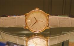 ドイツ時計の伝統を現代に継承するブランド、A・ランゲ&ゾーネより高貴な気品が漂う優雅なモデル。