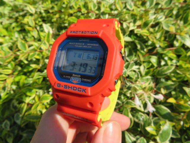 神戸市消防局 救助隊50周年 コラボモデル! G-SHOCK「GW-B5600FB-4JR」-G-SHOCK -IMG_1614-1