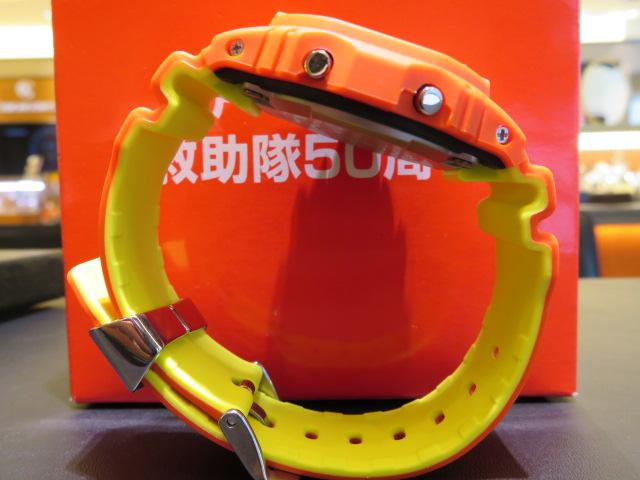 神戸市消防局 救助隊50周年 コラボモデル! G-SHOCK「GW-B5600FB-4JR」-G-SHOCK -IMG_1618