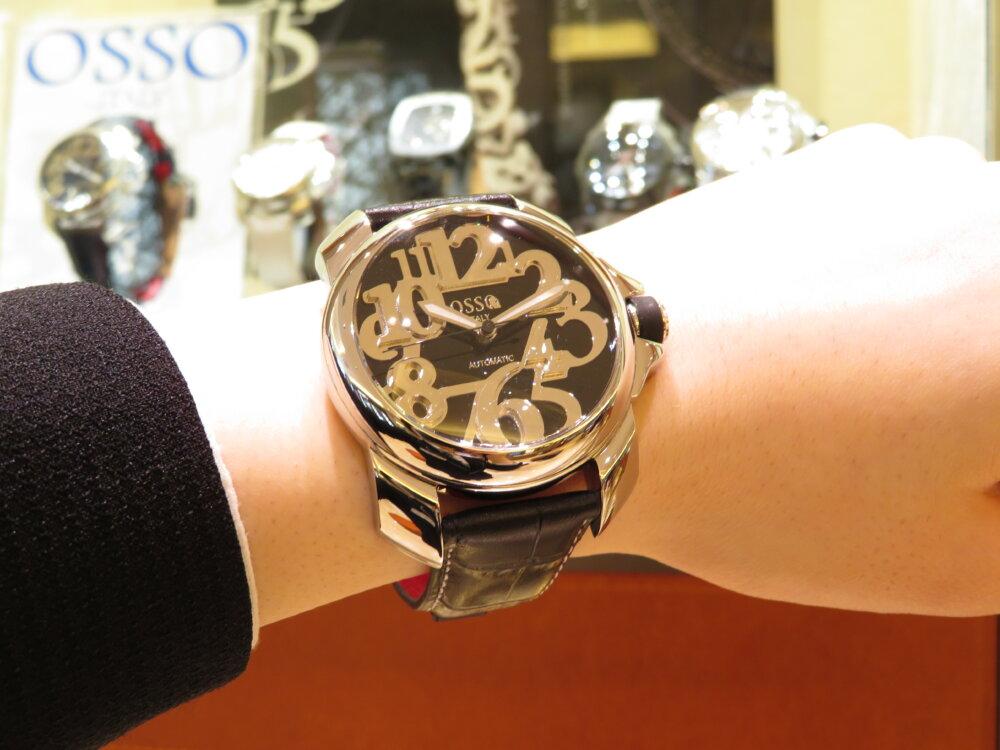 イタリア発のハイセンスな腕時計!オッソイタリィ ストラップキャンペーン開催中です☆-OSSO ITALY -IMG_1683