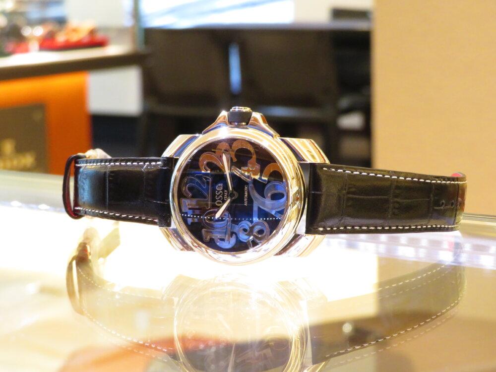 イタリア発のハイセンスな腕時計!オッソイタリィ ストラップキャンペーン開催中です☆-OSSO ITALY -IMG_1685