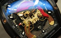 海賊を連想させる腕時計!クストス チャレンジ ジェットライナーⅡインクベーダース スカル パイレーツ