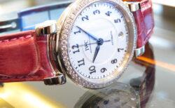 女性へのプレゼントには品の良いダイヤモンドが喜ばれます! IWC ダ・ヴィンチ・オートマティック36 IW458308