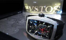 この時計に死角無し!クストスのフルダイヤモデル! 「チャレンジ ジェットライナーⅡ P-S オートマティック フルダイヤ」CVT-JET2-PS-FD ST