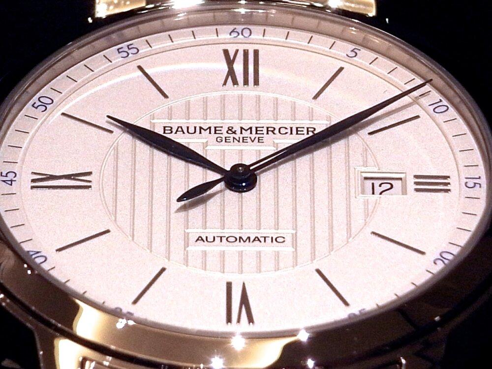 シンプルさが潔い!ボーム&メルシエの代表モデル「クラシマ オートマティック」-BAUME&MERCIER -R1163158