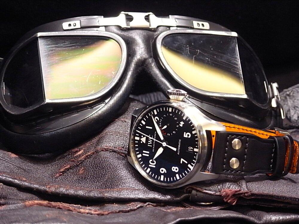 7日間のロングパワーリザーブを誇る名作 「ビッグ・パイロット・ウォッチ」-IWC -R1169015
