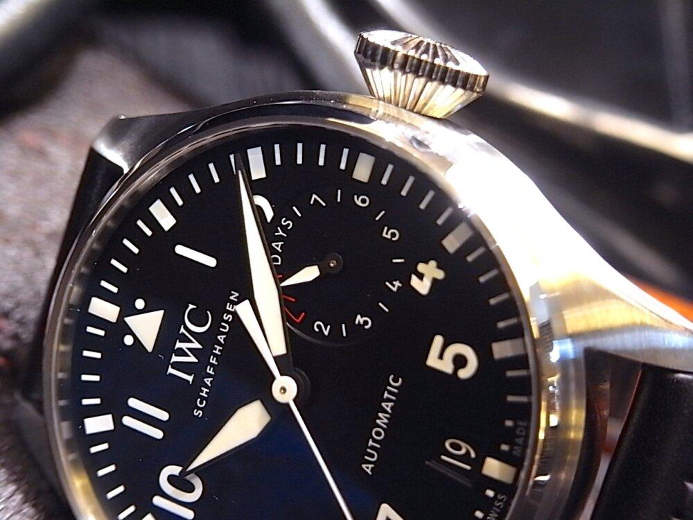 7日間のロングパワーリザーブを誇る名作 「ビッグ・パイロット・ウォッチ」-IWC -R1169016