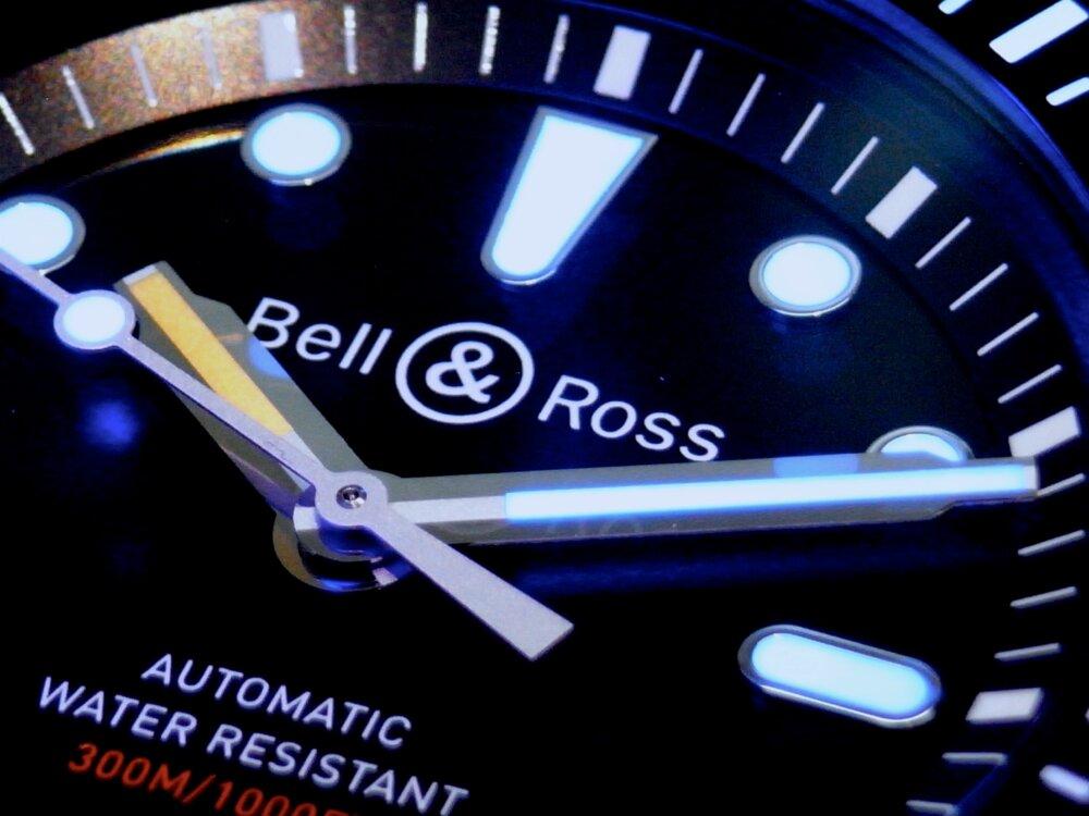 ベル&ロス 2019年新作モデル ブラックセラミックがカッコいい!「BR 03-92 ダイバー ブラック マット」-Bell&Ross その他 -R1171053
