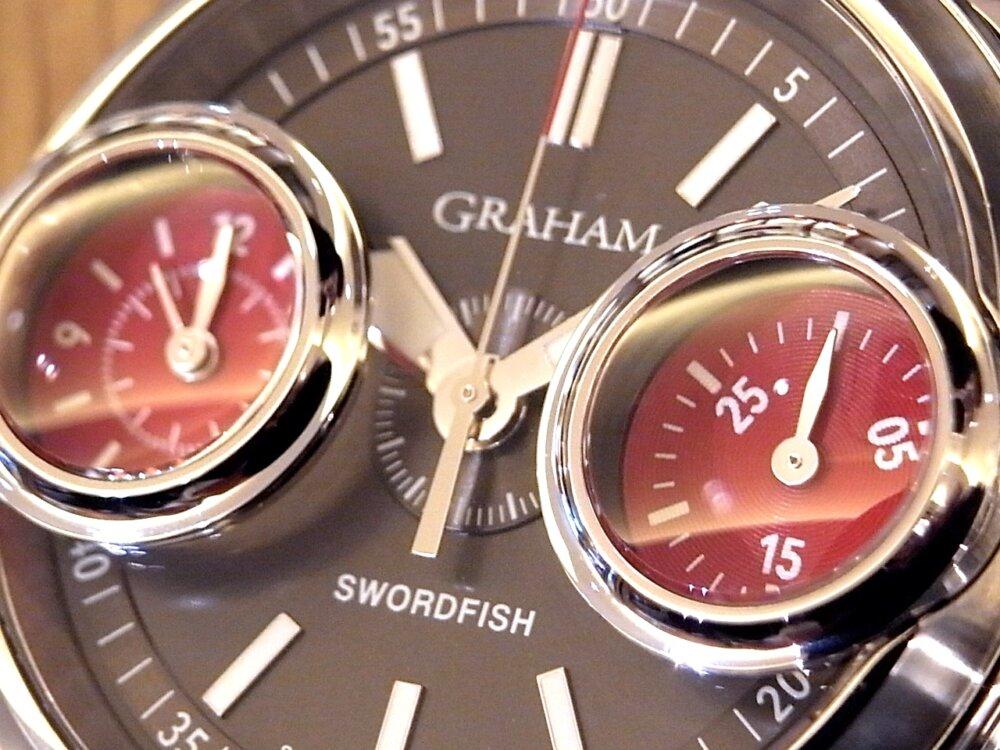 グラハム ストラップキャンペーン開催中!2019年大注目の新作モデルのご紹介!「ソードフィッシュ」-GRAHAM -R1171362