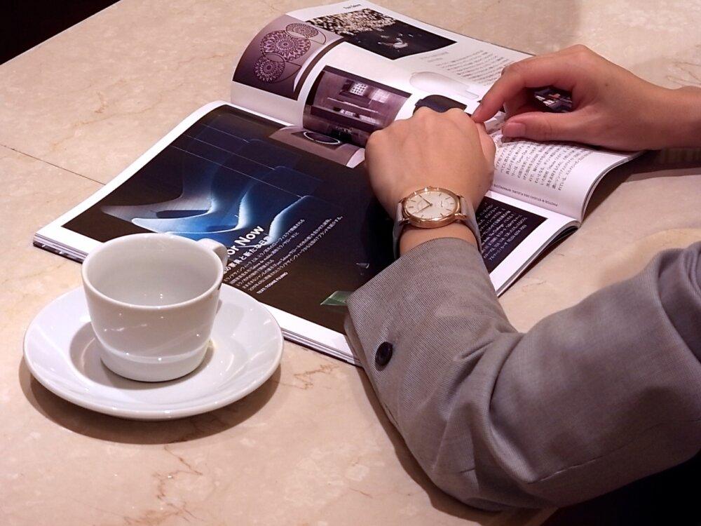 美しいマザー オブパール文字盤が女性にオススメ!! ランゲ&ゾーネ 「サクソニア」-A.LANGE&SÖHNE -R1171545