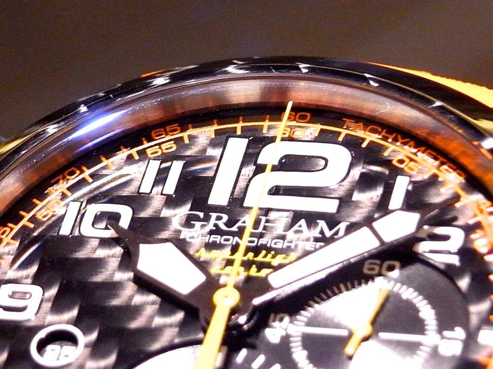 男の個性派ウォッチ(時計)! グラハム「クロノファイター スーパーライト カーボン」-GRAHAM -R1171590