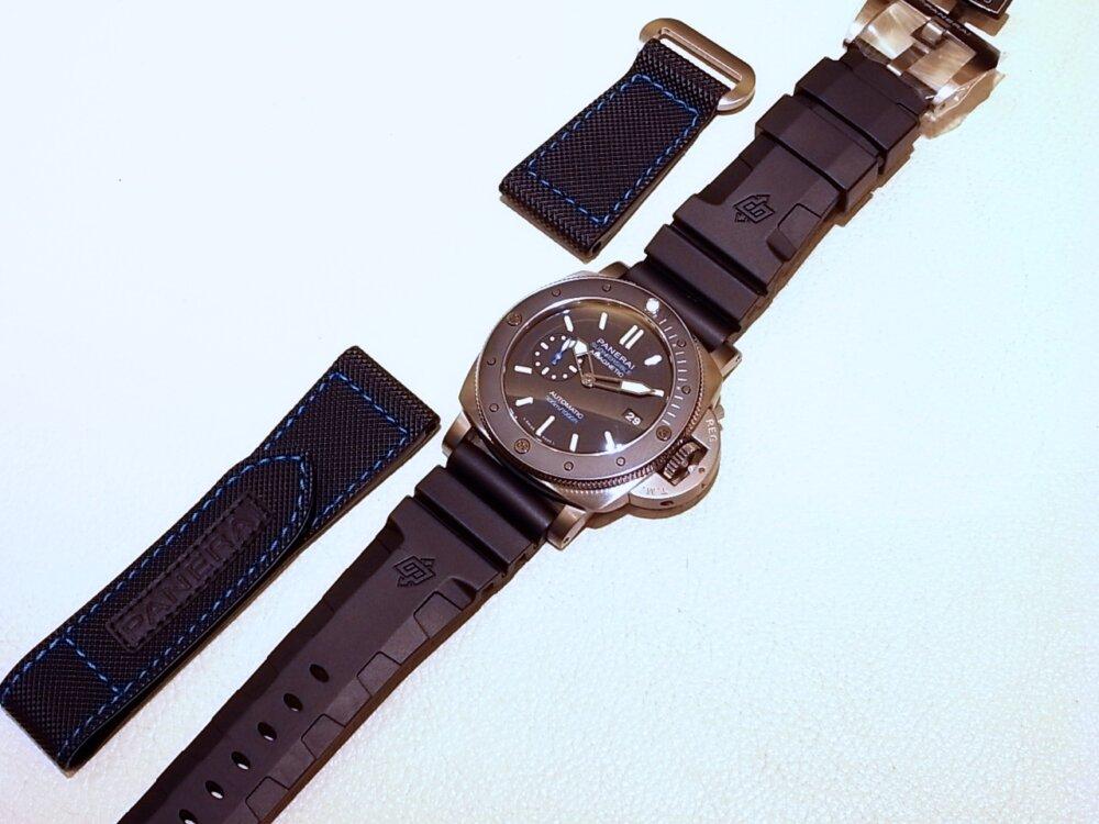 【パネライ】 アクティブなダイバーズ時計がオススメ「ルミノール サブマーシブル 1950 アマグネティック 3デイズ オートマティック チタニオ」 PAM01389-PANERAI -R1171659