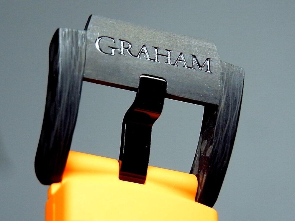 男の個性派ウォッチ(時計)! グラハム「クロノファイター スーパーライト カーボン」-GRAHAM -R1171667