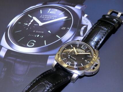 """パネライ代表モデルと言えば、このモデル!!""""ルミノール 1950 8デイズ GMT(PAM00233)""""~パネライ~"""