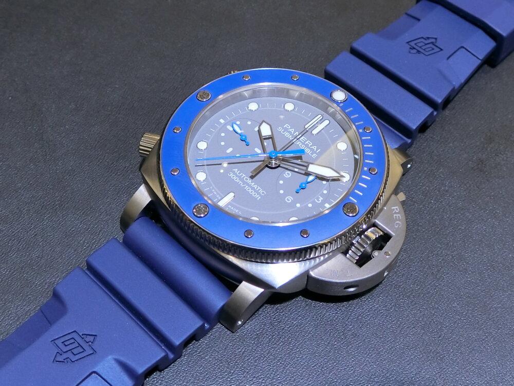 腕元に特別感を与えてくれる腕時計!サブマーシブル クロノ ギョームネリー エディション(PAM00982)~パネライ~-PANERAI -CIMG0393