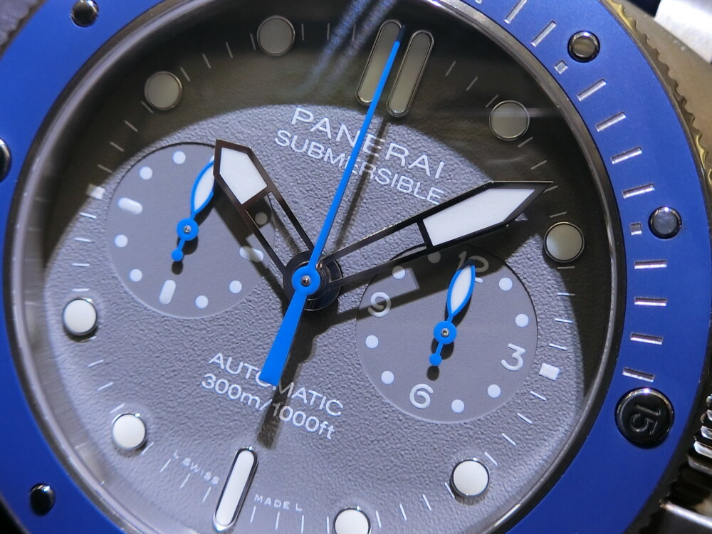 腕元に特別感を与えてくれる腕時計!サブマーシブル クロノ ギョームネリー エディション(PAM00982)~パネライ~-PANERAI -CIMG0406