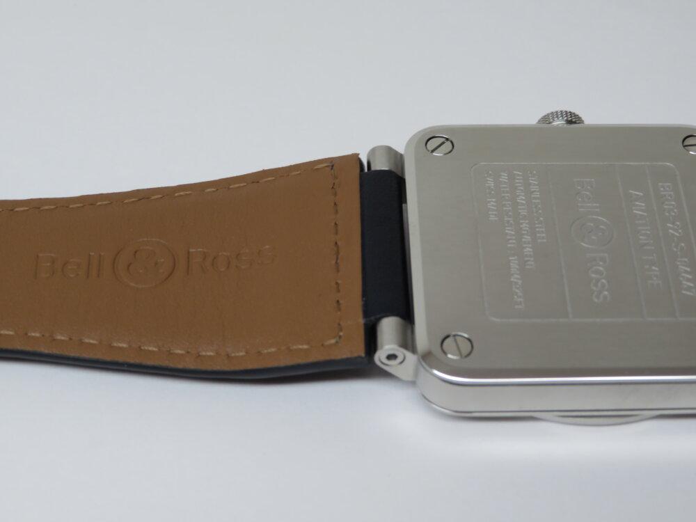 視認性、機能性を備え、デザイン性も優れた ベル&ロス「BR 03-92 BLUE STEEL」BR0392-BLU-ST/SCA-Bell&Ross -IMG_0305