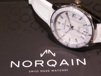 ラバーベルトのスポーティーでエレガンスなレディース時計 NORQAIN(ノルケイン) アドベンチャー スポーツ オート