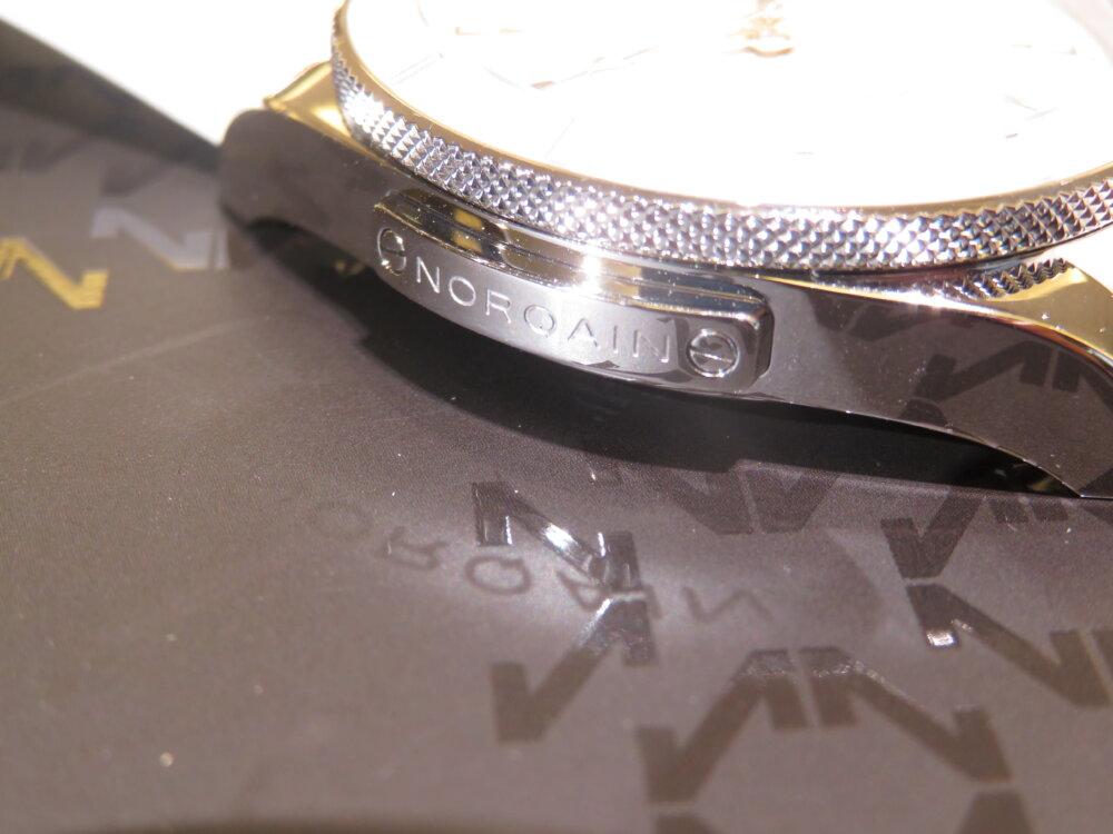 ラバーベルトのスポーティーでエレガンスなレディース時計 NORQAIN(ノルケイン) アドベンチャー スポーツ オート-NORQAIN -IMG_5576