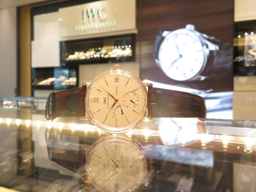 金無垢時計を身に着けてみませんか?IWC ポートフィノ・ハンドワインド・エイトデイズ IW510107-IWC -IMG_5578