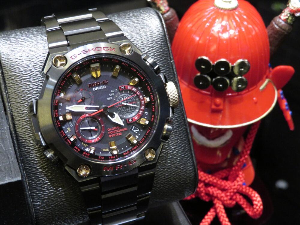 強さの象徴「赤備え(あかぞなえ)」 G-SHOCK「MR-G」MRG-G1000B-1A4JR-G-SHOCK -IMG_5696