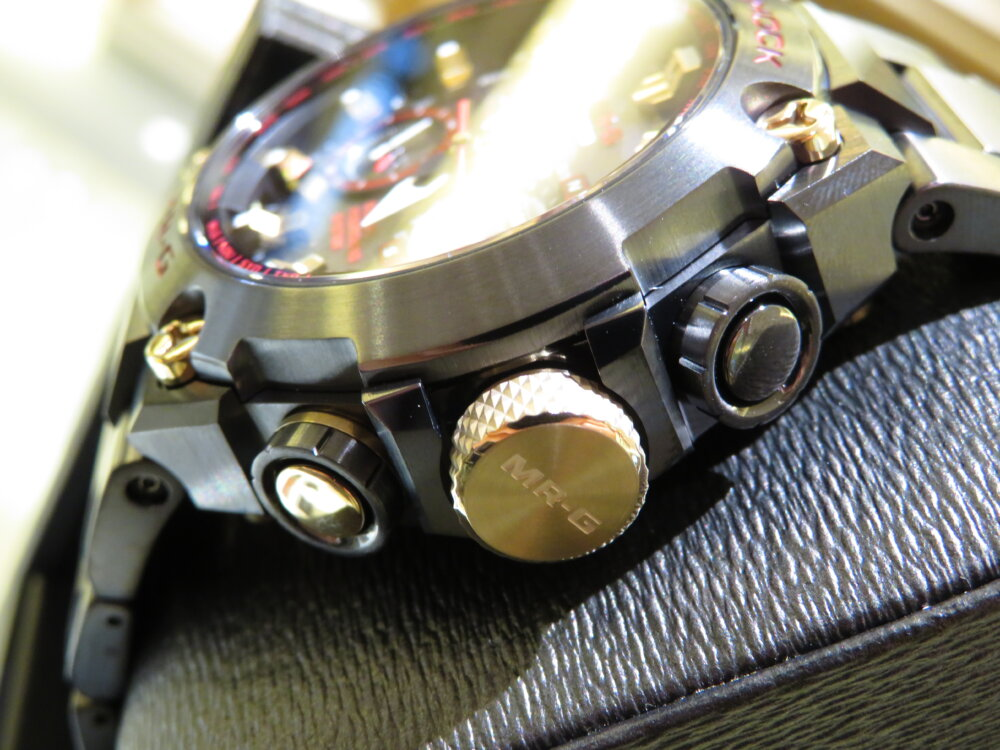 強さの象徴「赤備え(あかぞなえ)」 G-SHOCK「MR-G」MRG-G1000B-1A4JR-G-SHOCK -IMG_5701