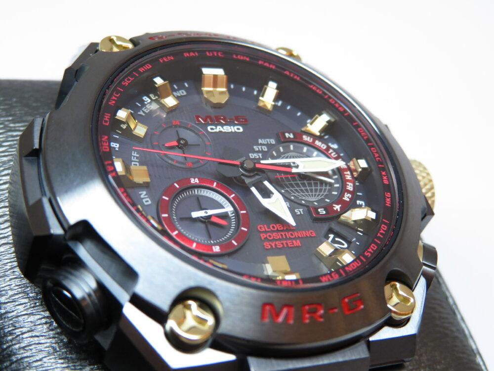 強さの象徴「赤備え(あかぞなえ)」 G-SHOCK「MR-G」MRG-G1000B-1A4JR-G-SHOCK -IMG_5708
