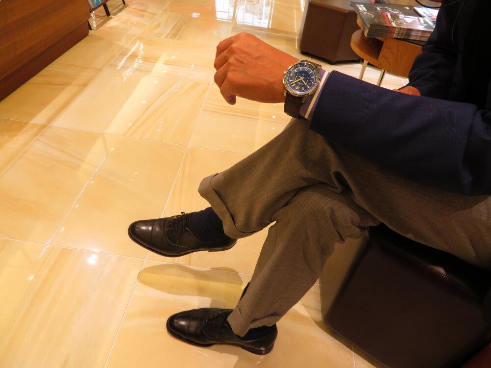 【ジャガー・ルクルト】伝説の防水アラーム時計に起源をもつスポーツコレクション、ポラリス クロノグラフ-Jaeger-LeCoultre -IMG_5786
