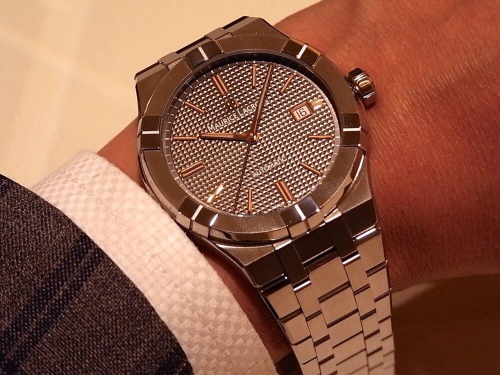 【モーリスラクロア】20万円代前半で手に入る本格機械式時計! 「アイコンオートマティック」-MAURICE LACROIX -R1170530