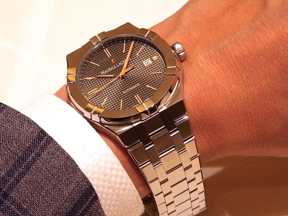 【モーリスラクロア】20万円代前半で手に入る本格機械式時計! 「アイコンオートマティック」-MAURICE LACROIX -R1170531