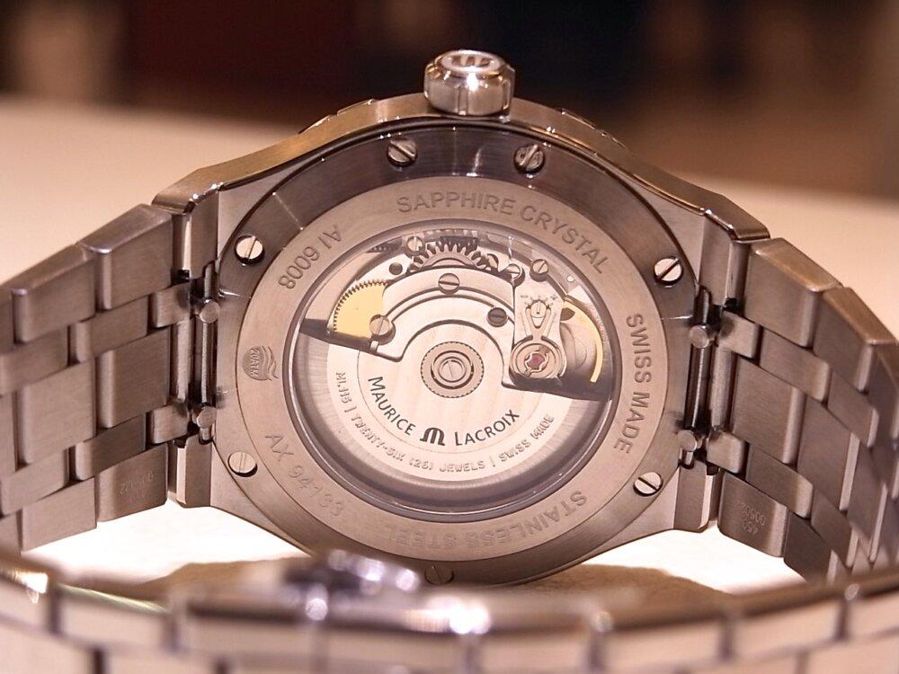 【モーリスラクロア】20万円代前半で手に入る本格機械式時計! 「アイコンオートマティック」-MAURICE LACROIX -R1170533