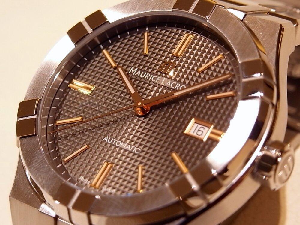 【モーリスラクロア】20万円代前半で手に入る本格機械式時計! 「アイコンオートマティック」-MAURICE LACROIX -R1170534