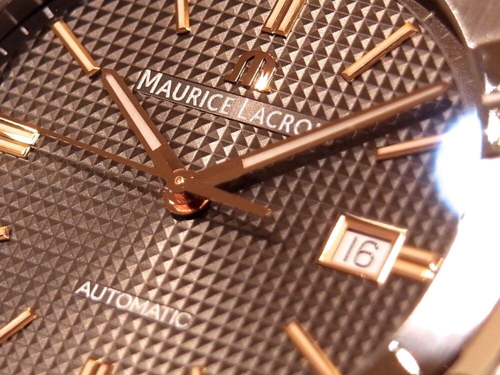 【モーリスラクロア】20万円代前半で手に入る本格機械式時計! 「アイコンオートマティック」-MAURICE LACROIX -R1170535