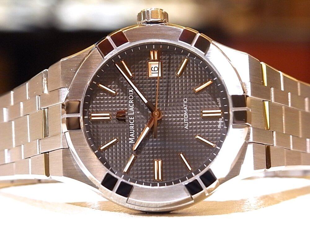 【モーリスラクロア】20万円代前半で手に入る本格機械式時計! 「アイコンオートマティック」-MAURICE LACROIX -R1170536