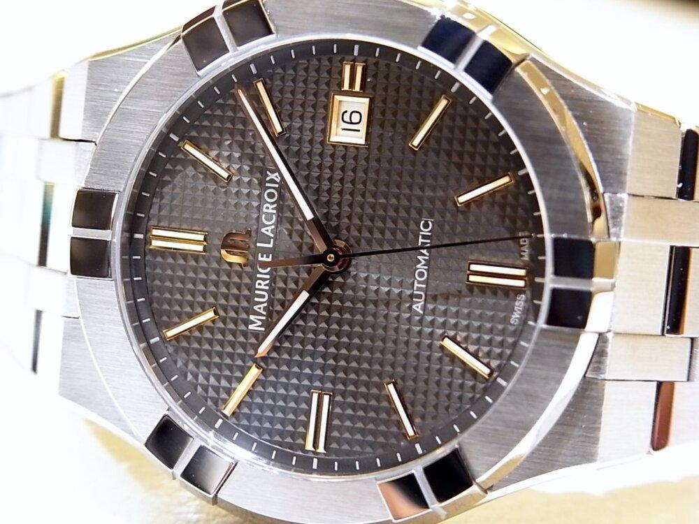【モーリスラクロア】20万円代前半で手に入る本格機械式時計! 「アイコンオートマティック」-MAURICE LACROIX -R1170537